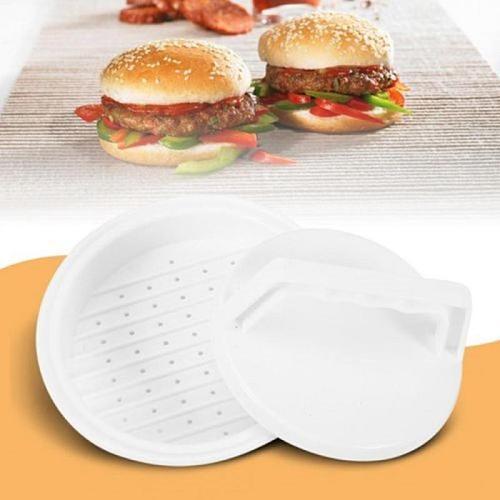 1 Set Round Shape Hamburger Press Food-Grade Plastic Hamburger Meat Beef Grill Burger Press Patty Maker Mold Mould Kitchen Tools