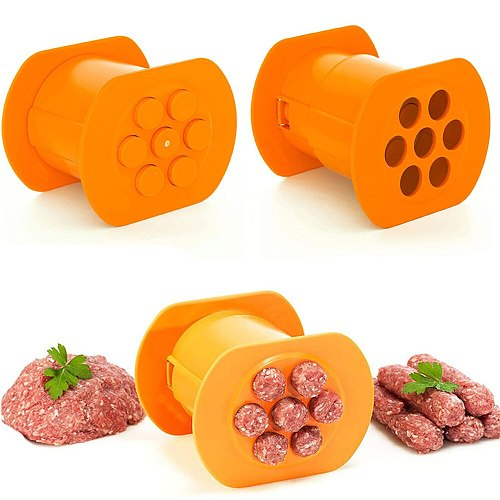 Squeezer Home Kitchen Meat Sausage Hot Dog Maker Meat Strip Squeezer Pasta Meatballs Rapid Prototyping Kitchen DIY Gadgets