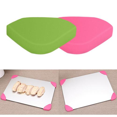 Plastic Defrost Tray Corner Protector Edge Safety Covers Guard Kitchen Tools for Home Decor Random Color 1pc