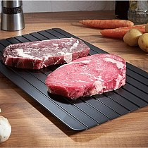 Sweet Treats Fast Defrosting Tray Defrost Meat Or Frozen Food Quickly Without Electricity Microwave