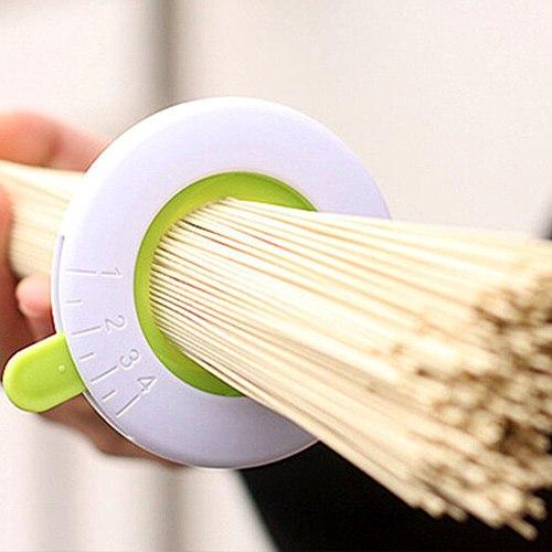 1 pc Creative Spaghetti Measures Plastic 1-4 People Component Adjustable Pasta Tools Noodle Measuring Tools