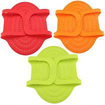 Barbecue Food Grade Silicone Heat Resistant Turkey Lifter Non Stick Poultry Cooking Mat Barbecue