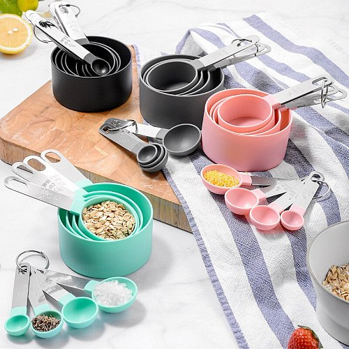 4/5/8/10Pcs Kitchen Tool Measuring Spoons Set Teaspoon Scoop Cake Baking Measuring Cups Baking Accessories Kitchen Gadget Sets