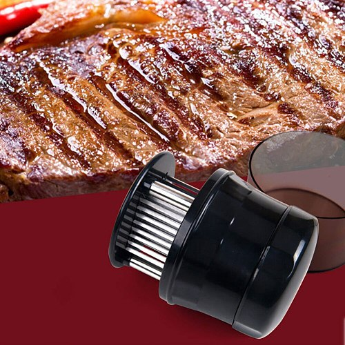 56 Blades Needle Meat Tenderizer Stainless Steel Knife Meat Beaf Steak Meat Tenderizer Useful Kitchen Cooking Tools