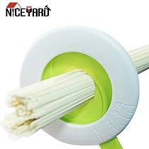 NICEYARD Plastic Pasta Noodle Measuring Tool Adjustable Spaghetti Measure Controller Tool