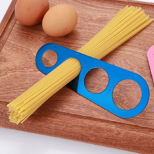 Colourful Stainless Steel Spaghetti Pasta Measurer Noodle Dispenser Portions Controller Component Selector Volumn Kitchen Tool