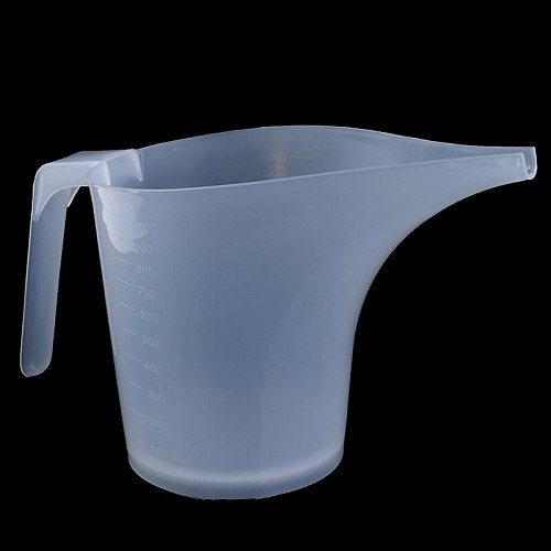 Cooking Tip Mouth Plastic Measuring Jug Cup Graduated Surface Kitchen Bakery Tool  Liquid Measure Jug