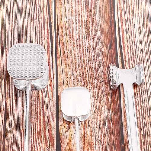 Meat Tenderizer Hammer Steak Beef Chicken Tenderizer Mallet Pounders Cutlet Beater Aluminum Alloy Cookware Kitchen Accessories