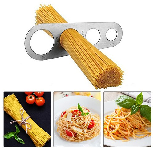 1PC Stainless Steel Spaghetti Measurer Pasta Noodle Measure Easy Use Noodle Measurer Kitchen Accessories