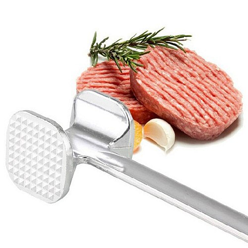 Hoomall 20x5.5cm Meat Tenderizer Aluminum Alloy Meat Pounders Knock-hammer Face Beaft Kitchen Utensils Kitchen Accessories 2018