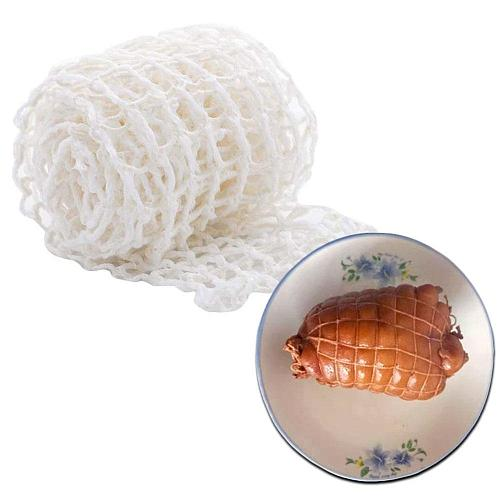 1 Meter Cotton Meat Net Ham Sausage Roll Net Hot Dog Meat Tools Kitchen Net Tool Strings Packaging Cooking Butcher's Sausag L1R5