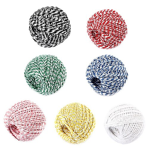 1Roll 75m Trussing Turkey Barbecue Strings Meat Sausage Tie Rope Cord Cooking Tools zongzi DIY Butcher's Cotton Twine Meat Prep