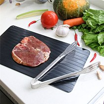 Fast Defrosting Meat Tray chopping board Rapid Safety Thawing Tray Quick Thawing Plate For Frozen Food