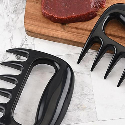 Creative Paw Shape Fork Tongs Pull Meat Claws Handler BBQ Kitchen Roasting Tool