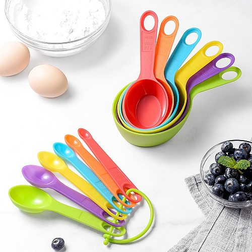 12pcs Scale Measuring Spoon Kitchen measuring sets gadgets and accessories baking accessories Tools attrezzi da cucina