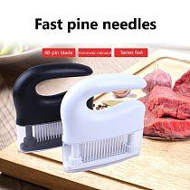 48-pin Steak Meat Tenderizer Loose Meat Needle Broken Tendon Needle Tenderizer Loose Meat Needle Kitchen Accessories New