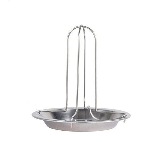 1Set Barbecue Grilling Baking Cooking Pans Non-Stick Chicken Roaster Rack With Bowl BBQ Accessories Tools
