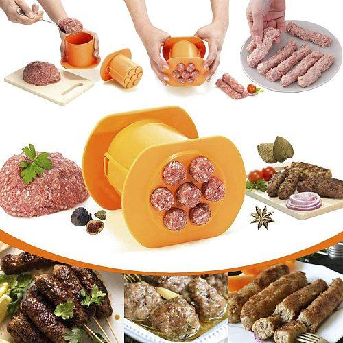 Sausage Maker Meat Press Squeeze Creative Hot Dog Hand Sausages Accessories Kitchen Gadgets Maker Machine Kitchen Tool