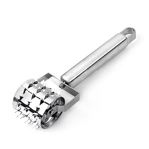 Kitchen Gadgets Multifunction Stainless Steel Tender Meat Hammer Meat Tenderizers Roller Hammer Portable Steak Pork Tools