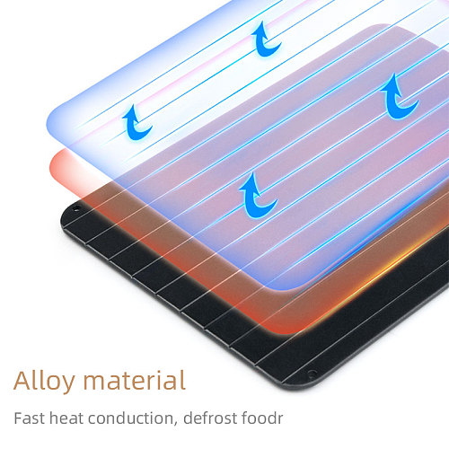 Fast Defrosting Tray Thaw Frozen Food Meat Fruit Quick Defrosting Plate Board Defrost Kitchen Gadget Tools utensils Thawing