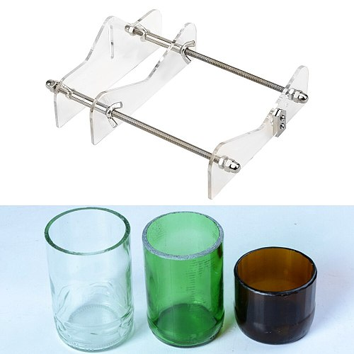 DIY Cut Tools For Cutting Wine Beer Professional Glass Bottle Cutter Round Bottle Cutting Machine Home Decoration