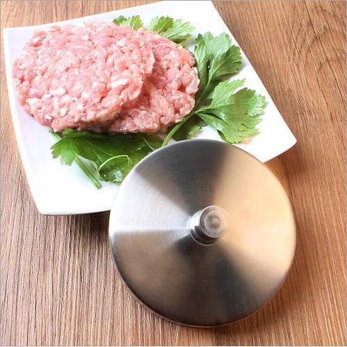 1Pcs Ham Maker Stainless Steel Hamburger Meatloaf Presses DIY Burger/Pizza Chef Cutlets Meatloaf Mold Maker Cooking Tools HOT