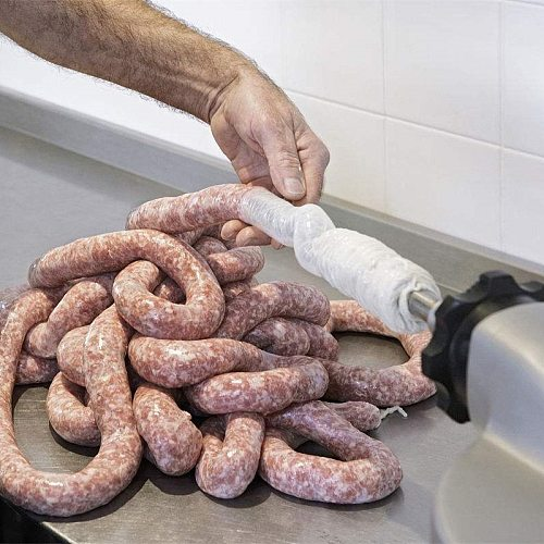 Kitchen edible Grade Soy Dry Meat Sausage Hamburger Skin Meters Casings Processing Intestine Shell DIY Sheep Tools Coat