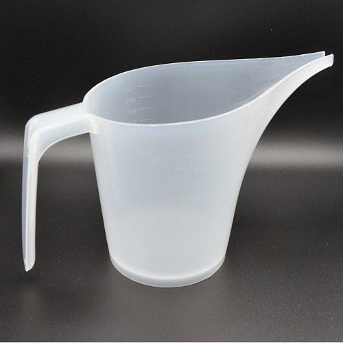 Long Mouth Plastic Measuring Cup With Scale Measuring Jug Kitchen Bakeware Laboratory Baking Measuring Cup Flow Cup