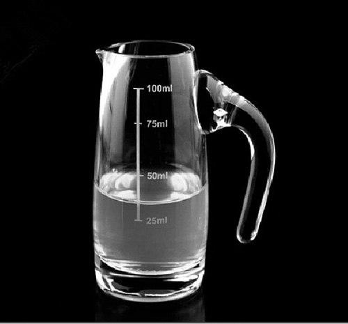 Glass Measuring Cup 100ml/150ml/300ml/500ml Heat-resisting Measuring Tool For Baking Lab Liquid Kitchen Utensils & Gadgets