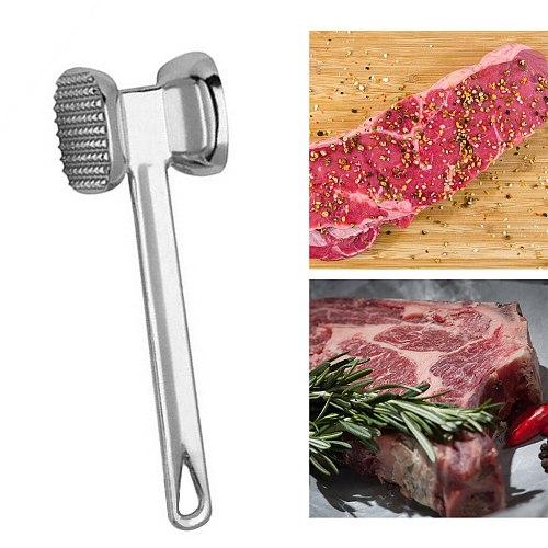 Aluminium Metal Meat Mallet Tenderizer Steak Beef Chicken Hammer Tool