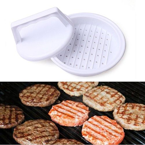Round Shape Hamburger Press Food-Grade Plastic Hamburger Meat Beef Grill Burger Press Patty Maker Mold Mould Kitchen Tool
