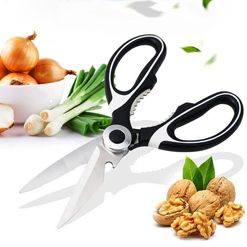 Stainless Steel Kitchen Scissors Multipurposes Shears Tool For Chicken Poultry Fish Meat Vegetables Herbs BBQ's Kitchen Tool