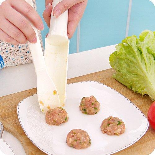 Multi-function Meatballs Molds Fish Shrimp Balls Meatloaf DIY Mould Meat Shovel Hamburger Press Meatball Maker Kitchen Tools