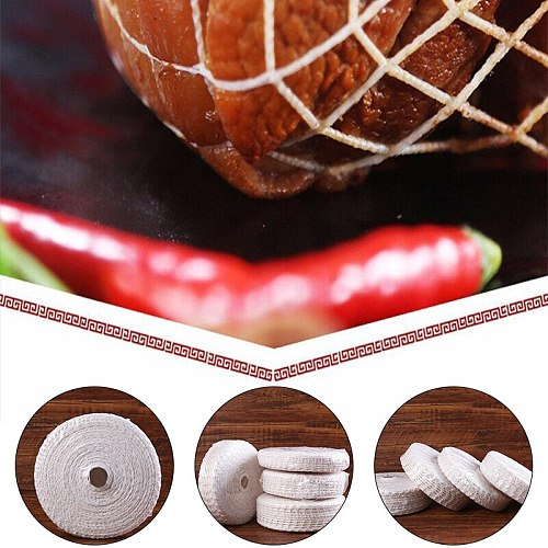 3 Meter Cotton Meat Net Ham Sausage Net Butcher's String Sausage Net Roll Hot Dog Net Sausage Packaging Tools Wholesale New
