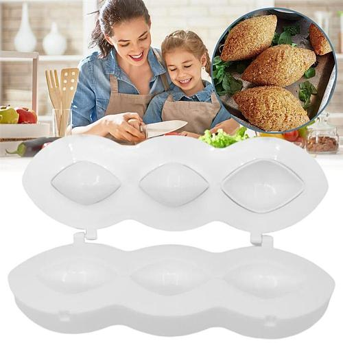 DIY Manual Meatball Mould Meatloaf Pan Mold Practical Kitchen Homemade Stuffed Meatballs Maker Tool Kitchen Accessories Meat Pie