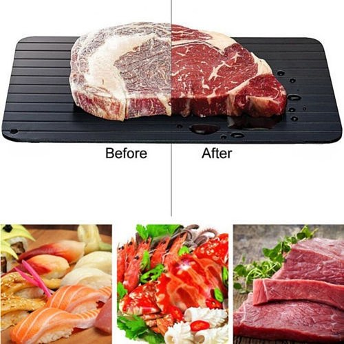 Fast Defrosting Meat Tray Chopping Board Rapid Safety Thawing Tray Quick Thawing Plate for Frozen Food Meat Kitchen Tool