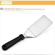 29.5 * 7.5 * 5cm Kitchen Spatula Shovel For Fried Plastic Handle BBQ DIY Grill Scraper Pancake Flipper Shovel Stainless Steel