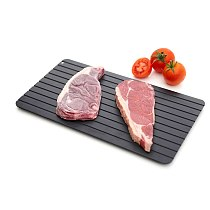 Aluminum Defrosting Tray Magic Fast Unfreezing Of food Thawing Tray Defrost Board for Thaw Frozen Food Kitchen Accessories