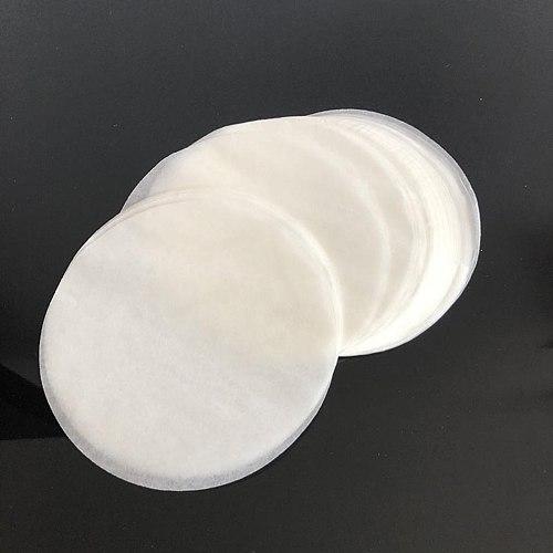 New Household Single Hole Self-Made Hamburger Kitchen Accessories Hamburger Press + 150 Pcs Non Stick Baking OilPaper For Burger