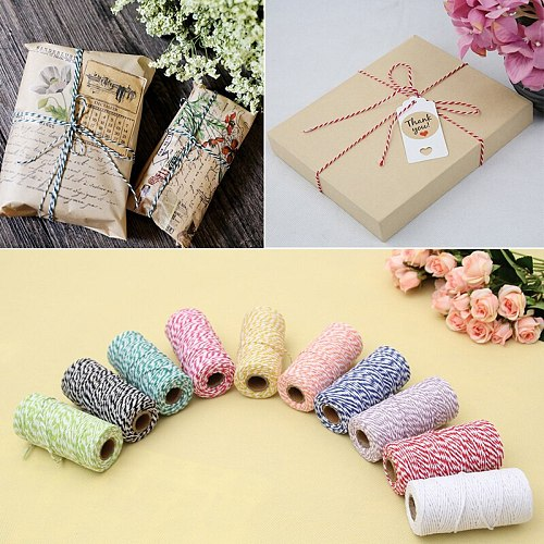 1pc Cooking Tools Butcher's Cotton Twine Meat Prep Trussing Turkey Barbecue Strings Meat Sausage Tie Rope Cord Drop Ship