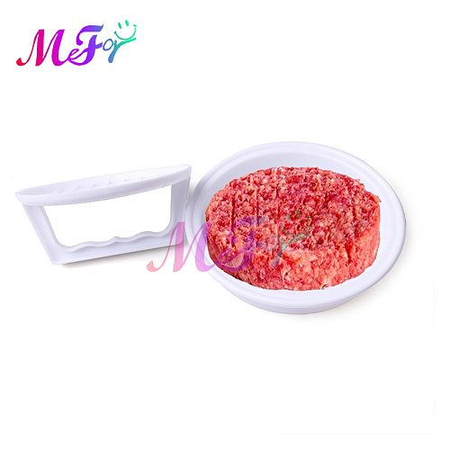 Round Shape Meat Tools Hamburger Press Plastic Beef Grill Burger Meat Press Multi-function Patty Maker Mold Kitchen Supplies