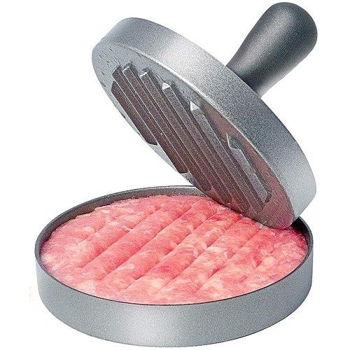 High quality Round Shape Hamburger Press Aluminum Alloy Hamburger Meat Beef Grill Burger Press Kitchen Food Mold