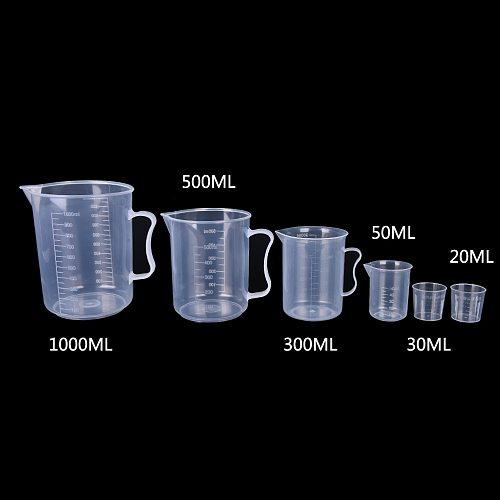 Measuring Cup Home Measuring Tools Sugar Coffee Transparent Mug Digital Kitchen Gadgets Accessories 20/30/50/300/500/1000 ML