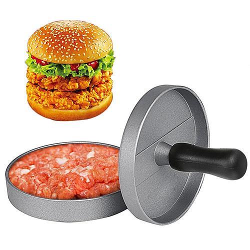 Round Non-stick Hamburger Meat Tortilla Pie Maker Press Kitchen Cooking Tool