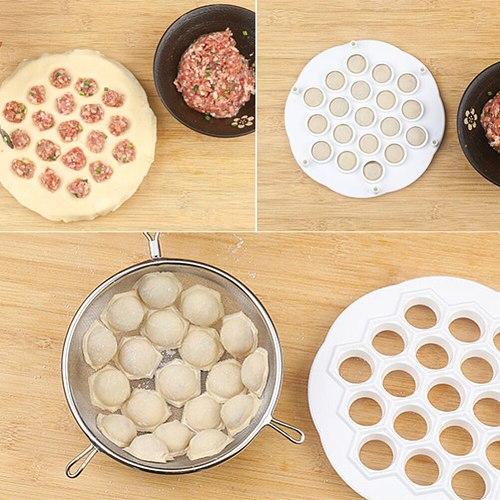 Kitchen Dough Press Ravioli Making Mould Dumpling Mold Maker DIY Maker Dumpling Pelmeni Mold Pasta Form 19/37 Holes Hot 2021