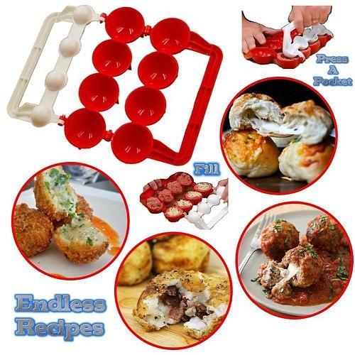 Tv Product Newbie Meatballs Fish Ball Maker Kitchen Tools Homemade Stuffed Meatball Fish Ball Hamburger Maker Mold
