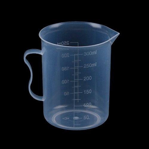 250ML Measure Jug Pour Spout Surface Kitchen Laboratory Scale Transparent Cooking Tool Measuring Cup