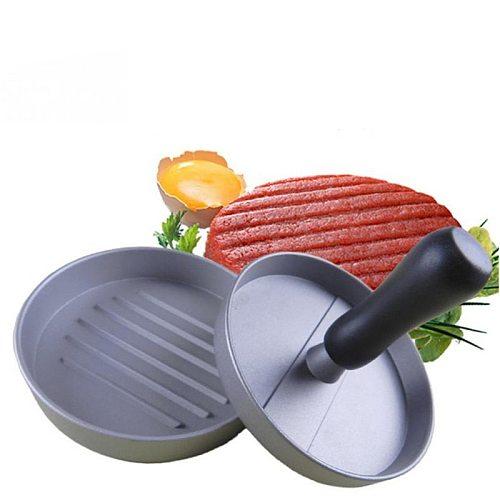 Kitchen Non-Stick Hamburger Presses Maker Chef Cutlets Hamburger Forms Mold Manual Meat Maker Cooking Tools FY0044