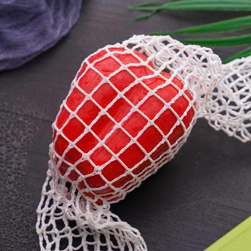 1Meter Cotton Meat Net Ham Sausage Net Butcher's String Sausage Net Roll Hot Dog Net Sausage Packaging Tools Meat Cooking Tool