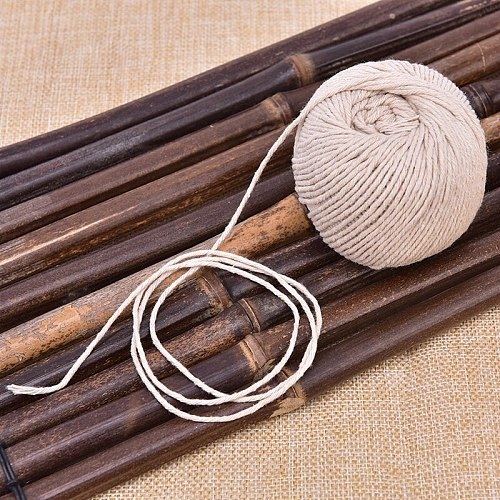 Cooking Tools Butcher's Cotton Twine Meat Prep Trussing Turkey Barbecue Strings Meat Sausage Tie Rope Cord Drop Ship